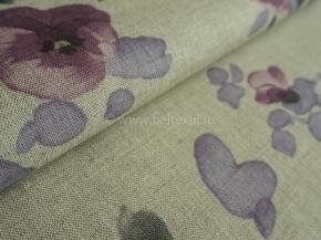 06С113-ШР/пн.+цп. 1/495 Ткань для постельного белья, ширина 150см, лен-58% хлопок-42% Анна 3