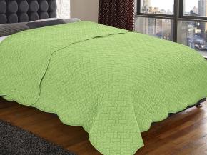 Покрывало Amore Mio WX Solid GR 2224 цвет зеленый