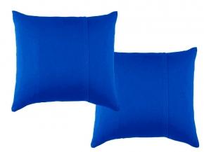 К-кт наволочек трикотажных (2 шт.) 70*70 цвет синий