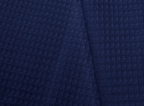 1928-БЧ (1157) Вафельное полотно гладкокрашеное цв.193950 синий, ширина 150см