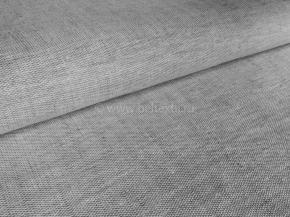 Ткань сорочечная 1654ЯК п/лен пестроткань рис. 10,7 серый сорт 1, ширина 150см