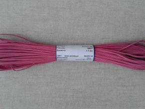 1С14-Г50 ШНУР ОТДЕЛОЧНЫЙ (сутаж) ярко-розовый*164, d-2.5мм (рул.20м)