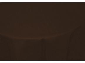 11С519-ШР Скатерть 100% лен 551 цвет шоколад 150*250 см.