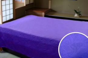 АРТ-004 Покрывало-плед 220*240 цвет пурпурный