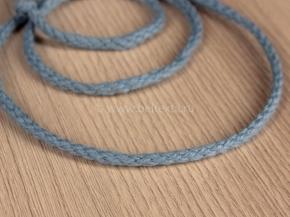 4мм ШХ8-004-18 Шнур, D-4мм, х/б 100%, серо-голубой