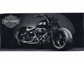 6с102.411ж1 Harley-Davidson Полотенце махровое 67х150см