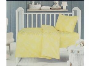 2716-БЧ 1.5 спальный компл. Мишки рис 5041-02 желтый