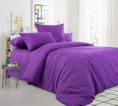 Перкаль Эко рис.20493/10 фиолетовый, ширина 220см