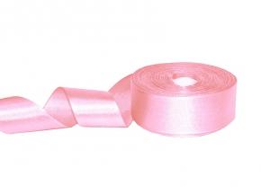 1С87У-Г50 ЛЕНТА АТЛАСНАЯ розовый*004, 34мм (рул.25м)