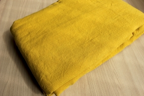 16с5-ШР 240*150  Простыня цв. 1443 горчица