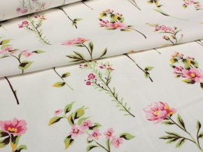 Ткань бельевая арт 175448 п/л отб набивной рис 19-82/1 Цветочный вальс, ширина  150 см