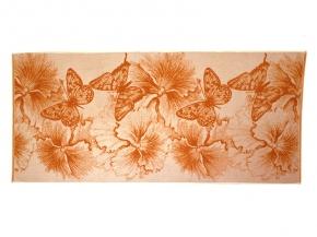"""4с82.111 67*150 """"Бабочки и цветы"""" полотенце махровое"""
