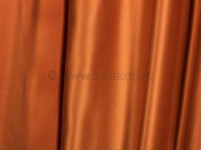 Ткань портьерная сатен T JL 384-45/280 PSat медь, ширина 280см