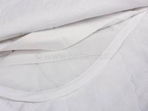 Наматрасник Василиса 160х200 Н/15 силиконизированное волокно/бязь и спандбонд