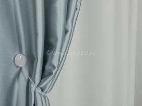 Ткань блэкаут C94 MIRA LIFE цв. 8 св.серый, нежно голубой, 300см