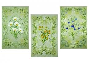"""17с337-ШР/п.р./с уп. 50*70 н-р полотенец 3шт. """"Полевые цветы-3"""""""