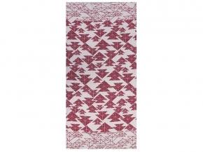 """17с356-ШР/у 56*110  полотенце """"Оригами"""" цв. 5 красный"""