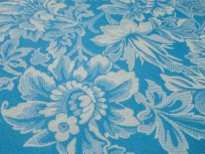 07с-39ЯК 50*70 Полотенце Хохлома цвет голубой