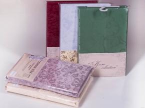 1809В-01 260*148 Скатерть Журавинка 1472/091001 горький шоколад в индивидуальной упаковке
