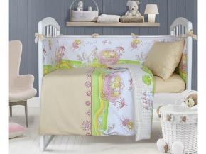3976 Набор декоративный для детской кроватки Звездная дорожка цвет бежевый