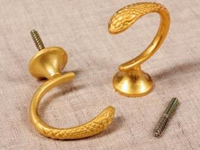 Крючок Кобра-03 матовое золото