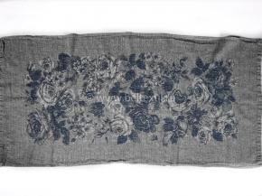 "17с356ШР/у 56*124 полотенце ""Франсуаза"" цв. темно-серый"