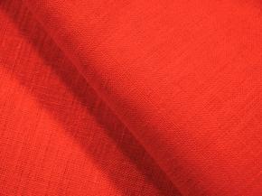 Ткань костюмная 176003 лен гладкокрашеный каландр цвет 1437 Очарование, ширина 150см