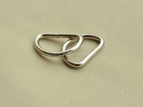 Полукольцо металл 20мм (2,6мм) никель (уп.500шт)