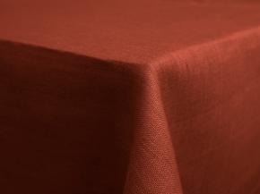 11С519-ШР Скатерть 100% лен 416 цв. терра 150*175 см.