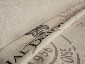 Ткань интерьерная 150 см 176099 п/лен п/вар..наб.рис.14-16/2 Воздушная почта