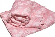 Одеяло 140*205см полиэстер/синтепон 300гр