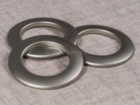 Люверсы AL 38 серый d-35мм (уп.10шт)
