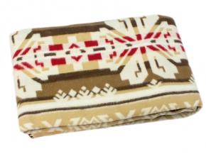Одеяло хлопковое 170*205 жаккард 37/15 цвет красный