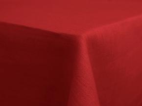 11С519-ШР 150*250 см.Скатерть 100% лен 1309  692 цвет красный