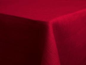 17С149-ШР 144*200 Скатерть 100% лен 1427 цв. красный