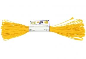 1С13-Г50 ШНУР ОТДЕЛОЧНЫЙ (сутаж) желтый*006, d-1.8мм (рул.20м)