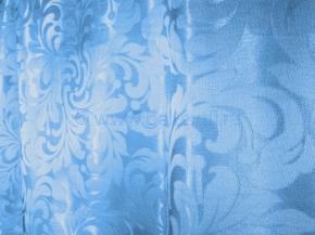 Портьера T ZG L2978-68/155 голубой, ширина 155 см