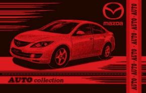 """4с82.070 104*175 """"Mazda"""" полотенце махровое"""