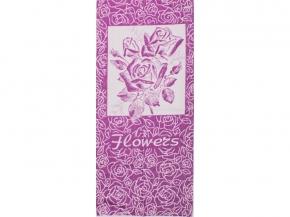 6с102.411ж1 Flowers Розы Полотенце махровое 67х150см