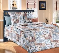 1100 КПБ 1.5 спальный Харлей