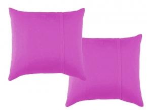 Комплект наволочек трикотажных (2 шт.) 70*70 цвет фиолетовый