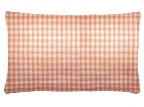 14с77-ШР Наволочка верхняя 50*70 цвет 8 персик клетка