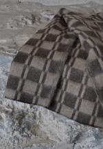 Одеяло п/шерсть эконом 70% 140*205 клетка