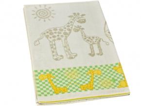 """4с94.070 104*160 """"Жирафик"""" простыня махровая"""