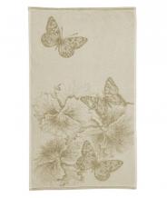 """4с96.121 50*90 """"Бабочки и цветы"""" полотенце махровое"""