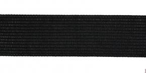 7С671-Г50 ТЕСЬМА ВЯЗ.ОКАНТОВОЧНАЯ 32мм (3,9 гр/м), черный