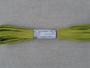 1С14-Г50 ШНУР ОТДЕЛОЧНЫЙ (сутаж) ярко-салатовый*175, d-2.5мм (рул.20м)