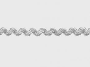 1С12-Г50 ТЕСЬМА ОТДЕЛОЧНАЯ ВЬЮНЧ. белый 6мм (рул.30м)