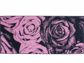 6с102.411ж1 Розы крупные Полотенце махровое 67х150см