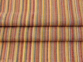 Ткань бельевая арт 7-16 п/лен пестроткань с красный, ширина 150см